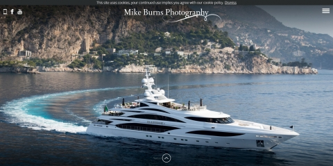 New website for Mike Burns Photography