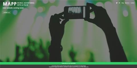 Re-branding for Mapp Media