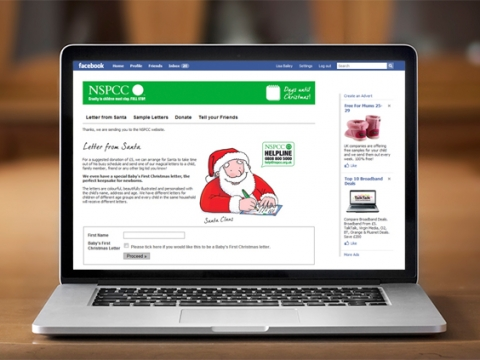 NSPCC Facebook Application